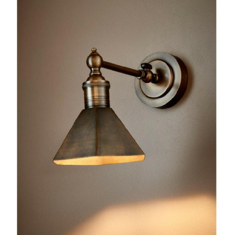 Mayfair Wall Sconce Antique Brass The Lighting Lounge