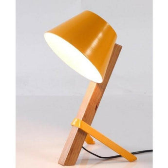 Mikkel Table Lamp Yellow - The Lighting Lounge Australia