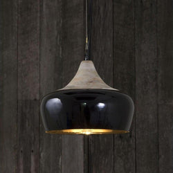 Milano Hanging Lamp in Black - The Lighting Lounge Australia