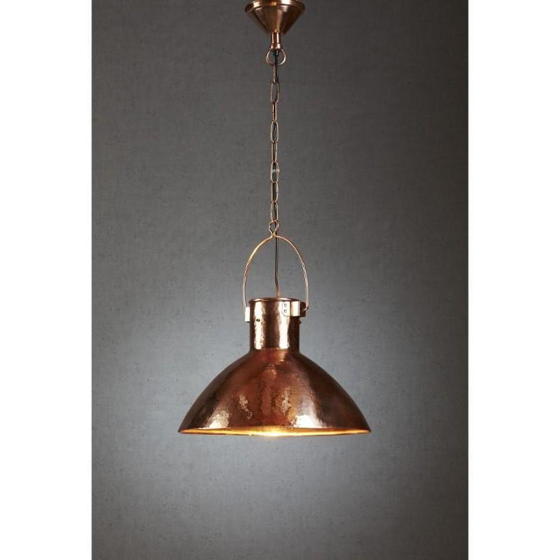 Nelson Hanging Lamp in Copper - The Lighting Lounge Australia