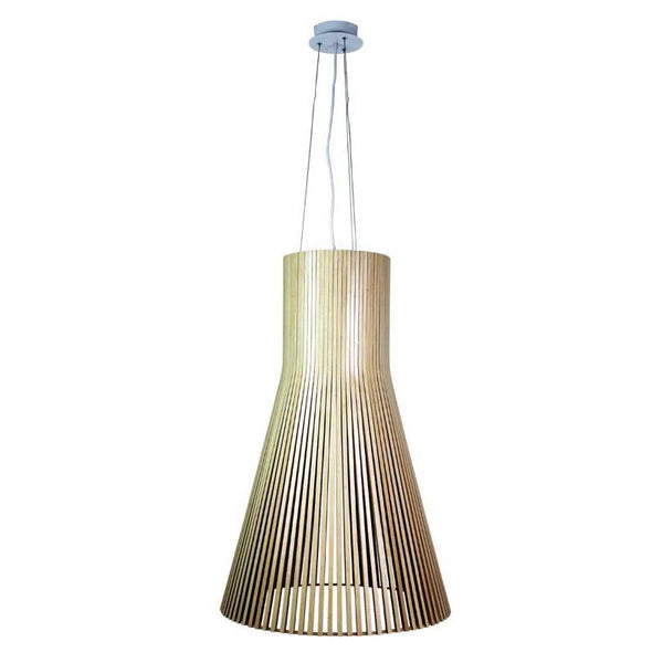 Nord Extra Large 3 Light Wooden Pendant - The Lighting Lounge Australia
