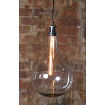 Odean Single Glass Pendant - The Lighting Lounge Australia