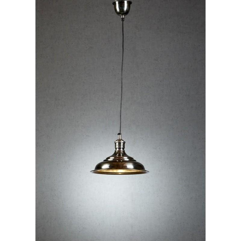 Pacific Hanging Lamp In Silver - The Lighting Lounge Australia