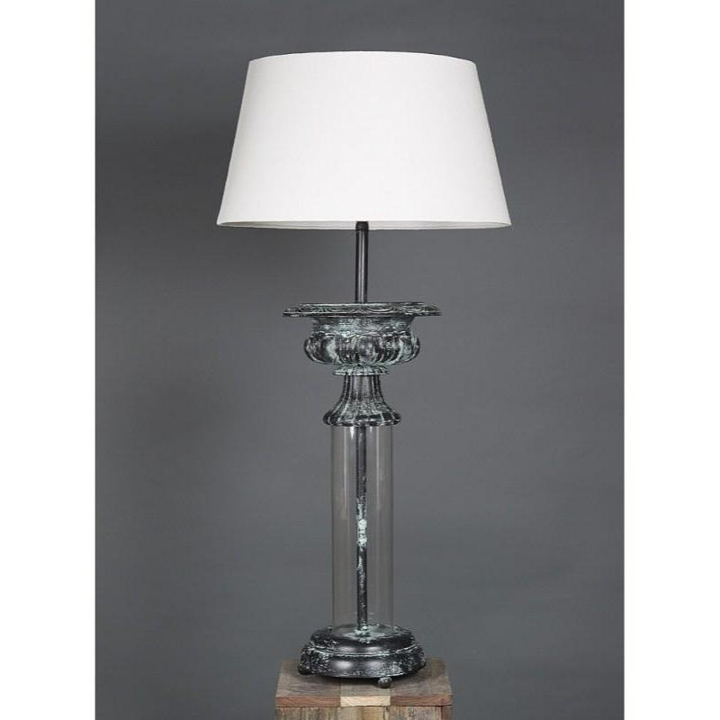Parch Glass Table Lamp Base - The Lighting Lounge Australia