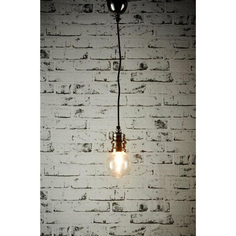 Penfold Large Hanging Lamp Antique Silver - The Lighting Lounge Australia