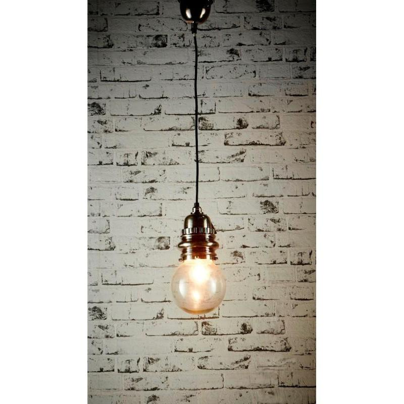 Penfold Small Hanging Lamp Antique Silver - The Lighting Lounge Australia