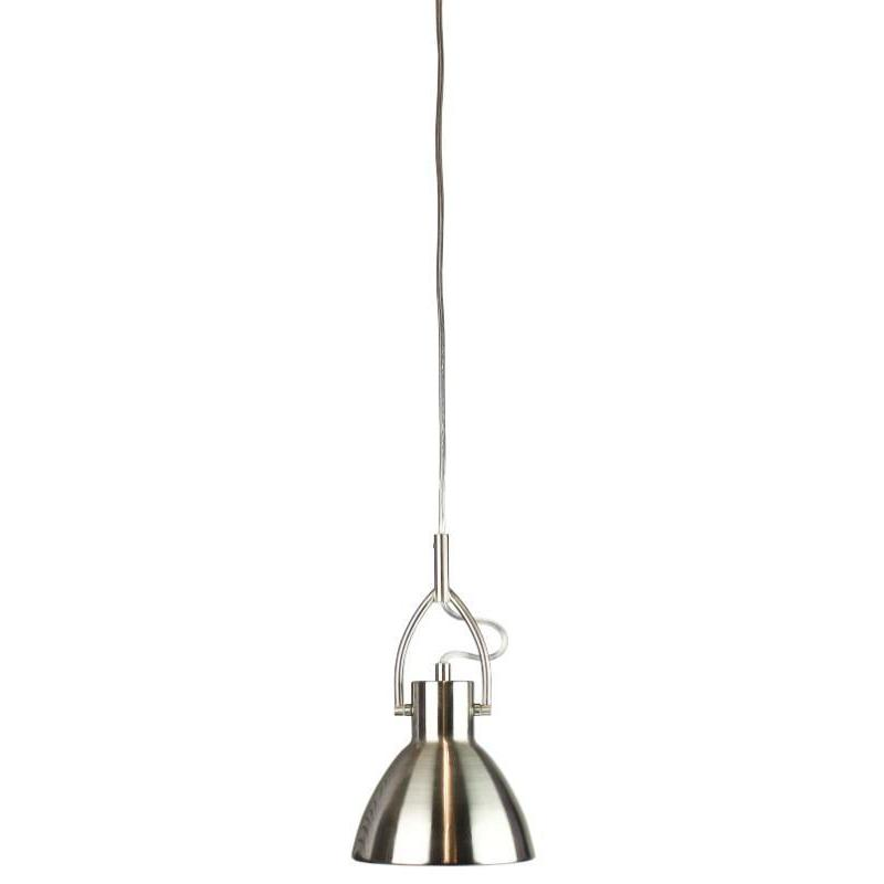 Perno 16 Brushed Chrome Single Pendant - The Lighting Lounge Australia