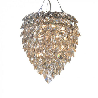 Petals Glass Chandelier Medium