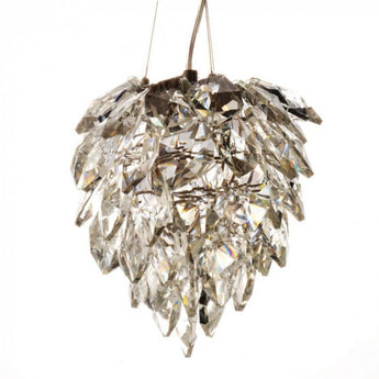 Petals Glass Chandelier Small - The Lighting Lounge Australia