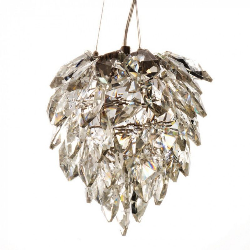 Petals Glass Chandelier Small