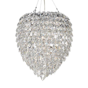 Petals Glass Chandelier Large - The Lighting Lounge Australia