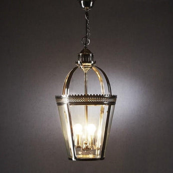 Piccadilly Pendant Lamp Shiny Nickel - The Lighting Lounge Australia