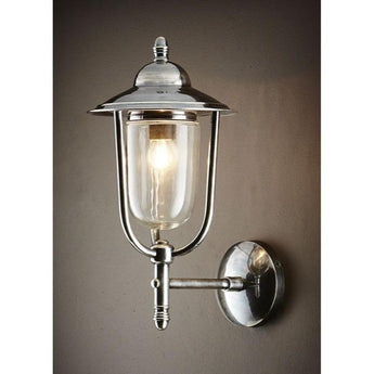 Pier Wall Lamp in Antique Silver - The Lighting Lounge Australia