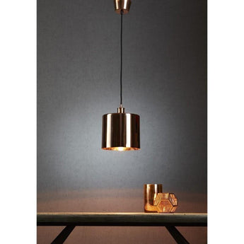 Portofino Hanging Lamp Copper - The Lighting Lounge Australia