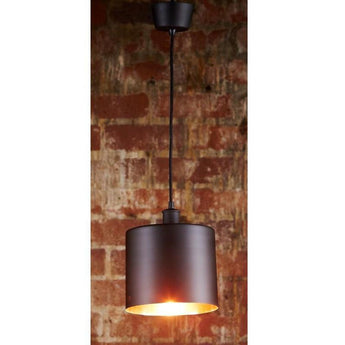 Portofino Hanging Lamp in Black Copper - The Lighting Lounge Australia