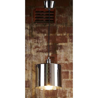 Portofino Hanging Lamp in Metallic Silver - The Lighting Lounge Australia