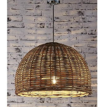Rattan Hanging Pendant Large - The Lighting Lounge Australia