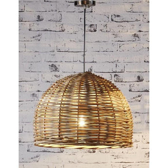 Rattan Hanging Pendant Small - The Lighting Lounge Australia