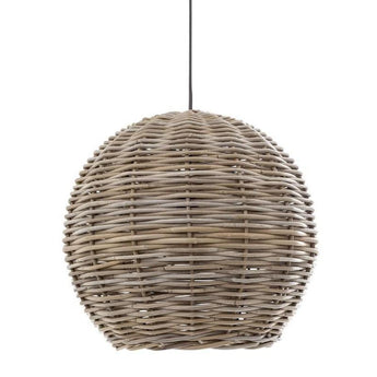 Rattan Round Hanging Pendant Large - The Lighting Lounge Australia