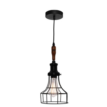 Reed Black Wire Pendant - The Lighting Lounge Australia