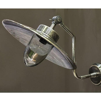 Regent Wall Lamp In Antique Silver - The Lighting Lounge Australia