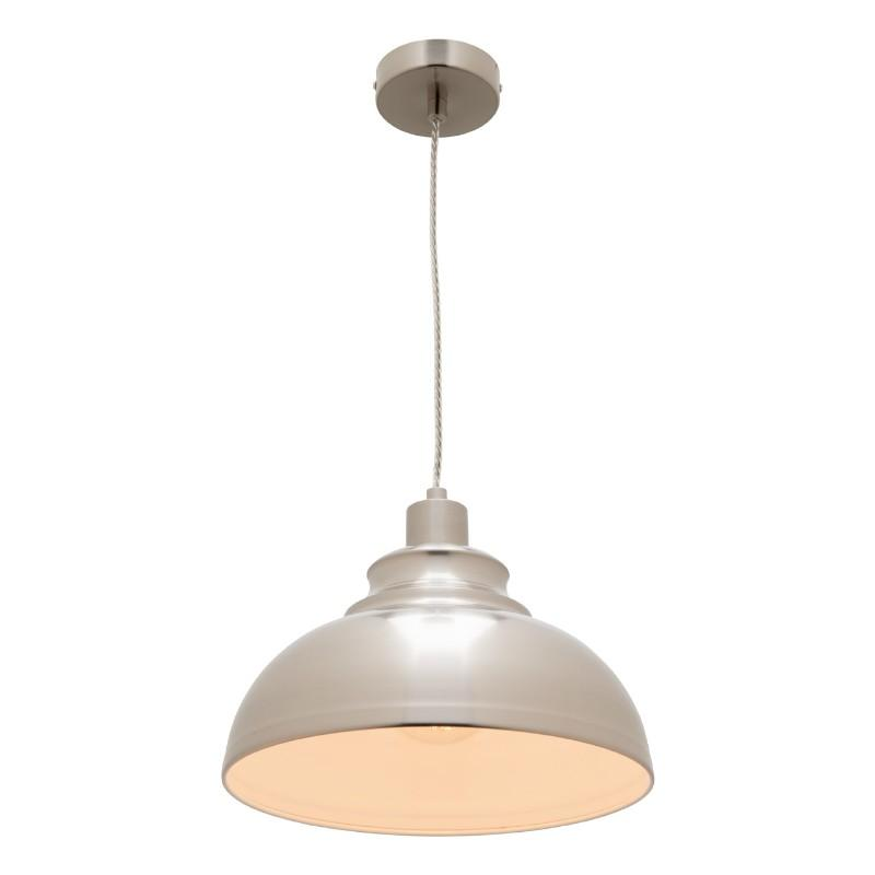 Risto Pendant Satin Chrome - The Lighting Lounge Australia