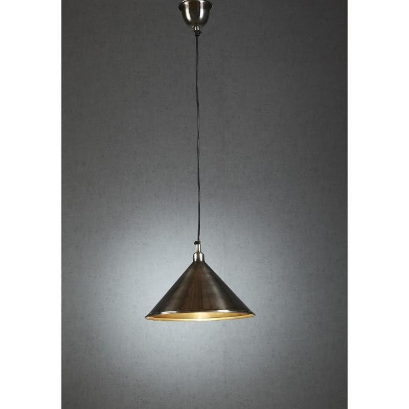 Riverway Hanging Lamp In Silver - The Lighting Lounge Australia