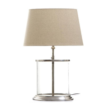 Sea Point Glass Table Lamp Base - The Lighting Lounge Australia