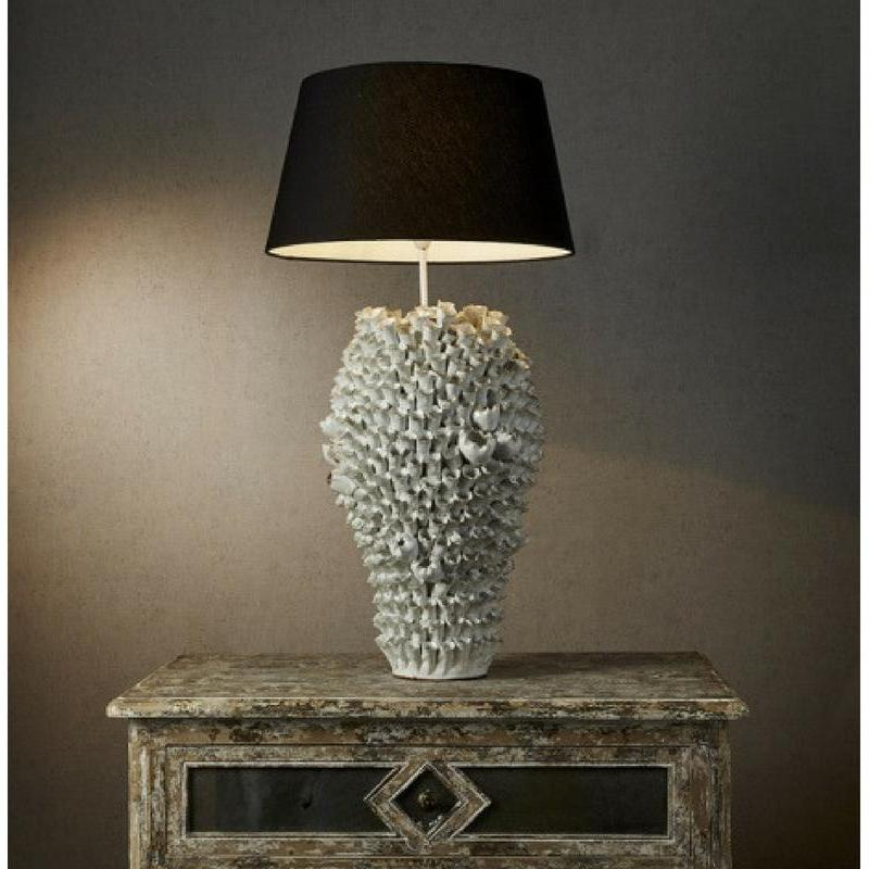 Singita Table Lamp Base In Cream