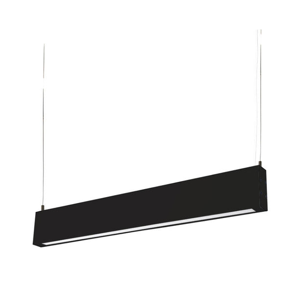 Slate LED Pendant Black - The Lighting Lounge Australia