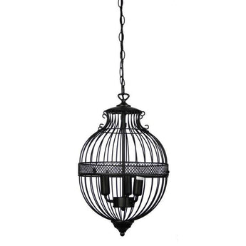 Southall 3 Light Pendant Matt Black - The Lighting Lounge Australia