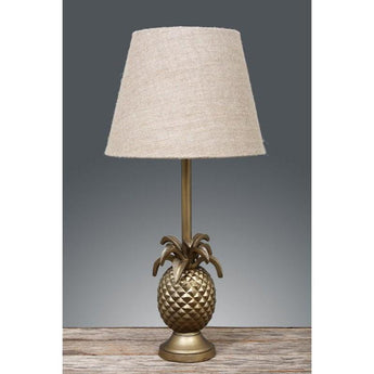 St Martin Pineapple Table Lamp Base Antique Brass - The Lighting Lounge Australia