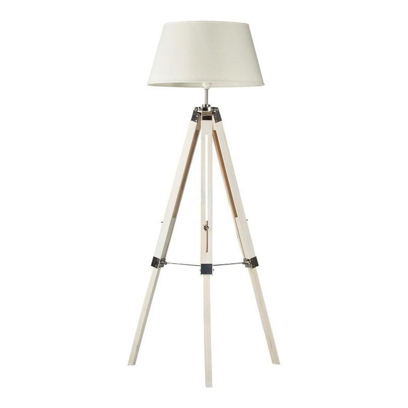 Hampus White Tripod Floor Lamp - The Lighting Lounge Australia