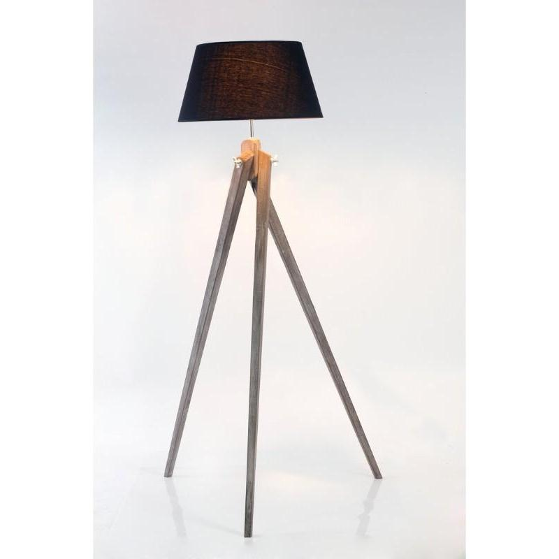 Sassa Twist Tripod Black Floor Lamp - The Lighting Lounge Australia