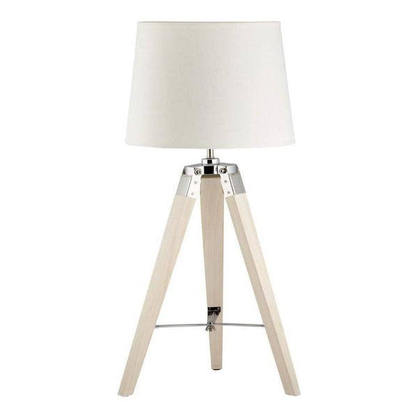 Karina Small White Tripod Table Lamp - The Lighting Lounge Australia