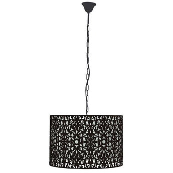 Vicky Pendant Matt Black - The Lighting Lounge Australia