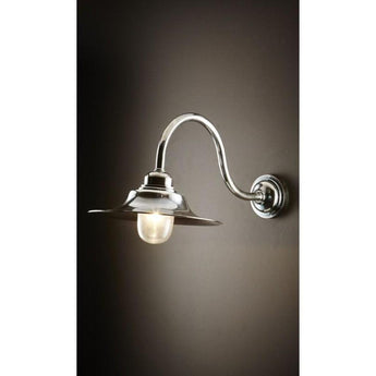 Victorian Wall Lamp in Antique Silver - The Lighting Lounge Australia