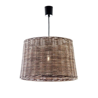 Wicker Round Hanging Lamp Small - The Lighting Lounge Australia