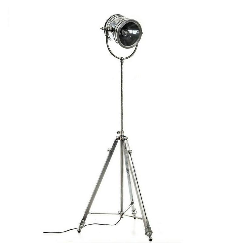 Wilson Floor Lamp Antique Silver - The Lighting Lounge Australia