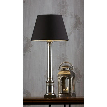 Wiltshire Table Lamp Base Antique Silver - The Lighting Lounge Australia