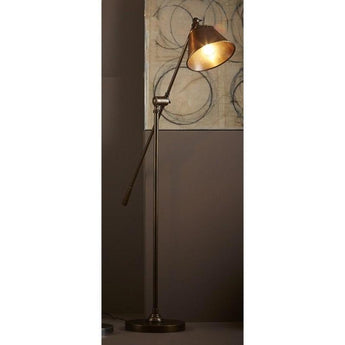 Winslow Floor Lamp Antique Brass - The Lighting Lounge Australia