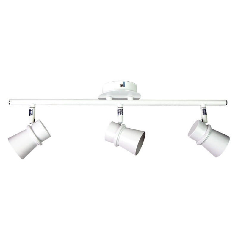 Yarra 3 Light Adjustable Spotlight Bar Matt White - The Lighting Lounge Australia