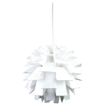 Ziggy Pendant White - The Lighting Lounge Australia