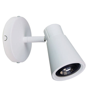 Zoom Single Adjustable Spotlight White - The Lighting Lounge Australia