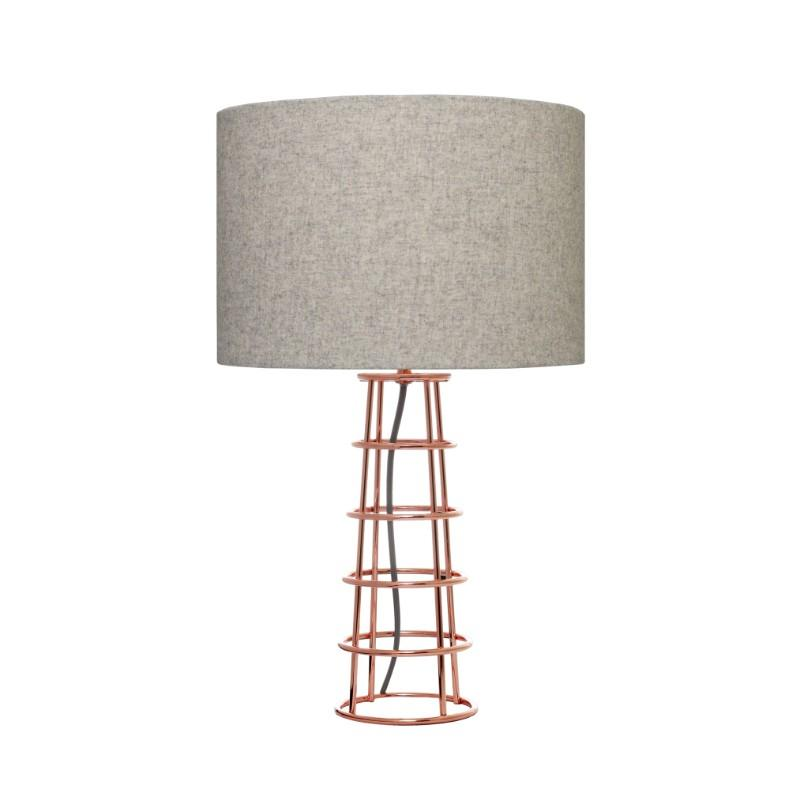 Beatrice Copper Table Lamp - The Lighting Lounge Australia