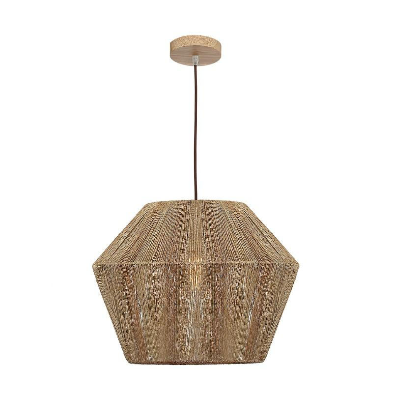 Cassie Natural Woven Pendant - The Lighting Lounge Australia
