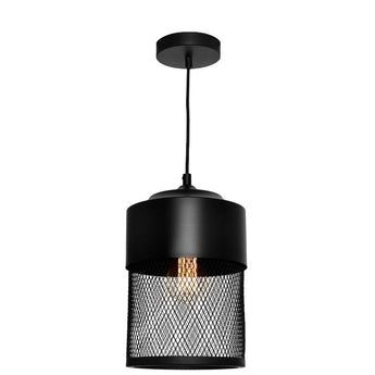 Galahad Black Mesh Pendant Small - The Lighting Lounge Australia