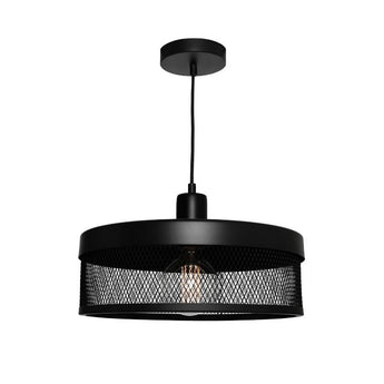 Galahad Black Mesh Pendant Large - The Lighting Lounge Australia