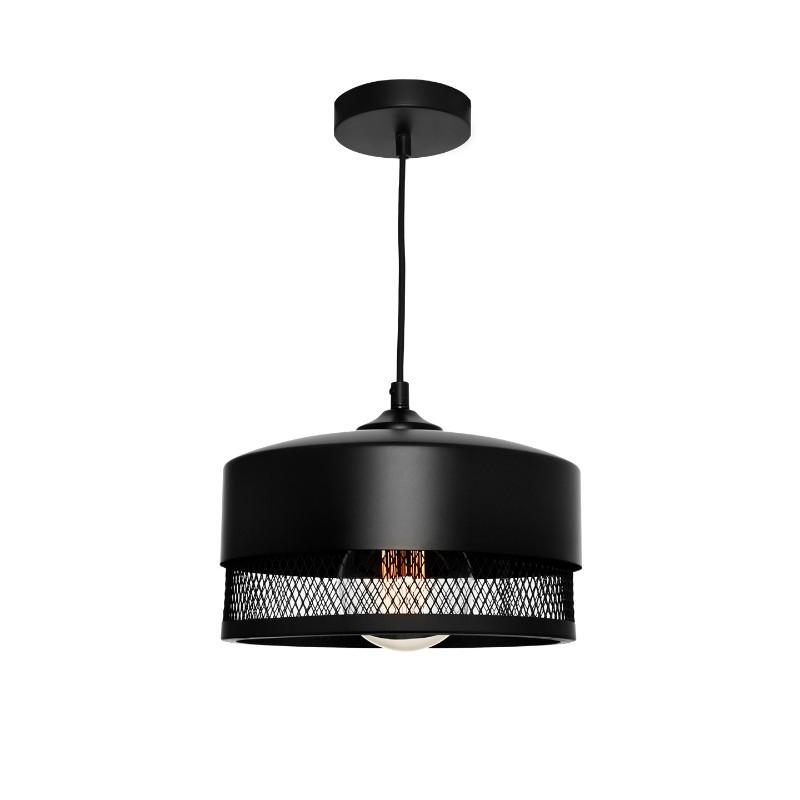Galahad Black Mesh Pendant Medium