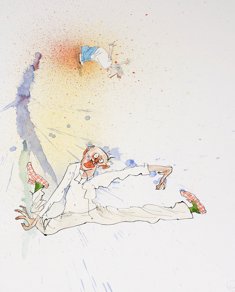 Ralph Steadman Signed Again! Print